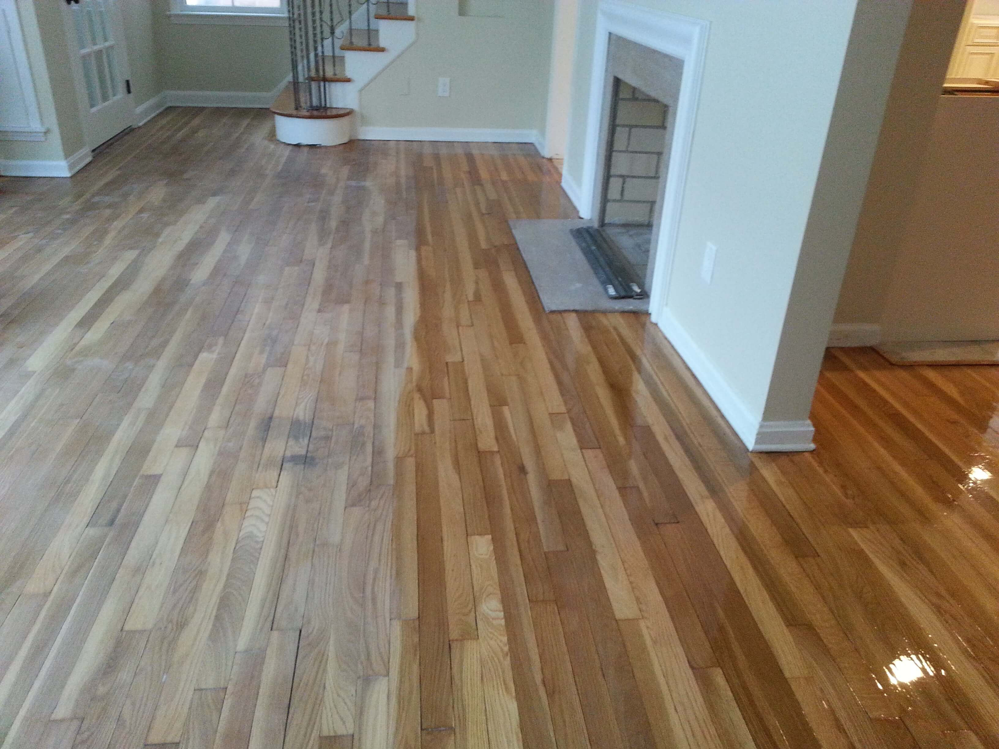 floor staining service in Columbus, OH