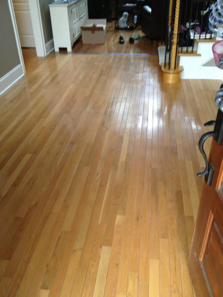 hardwood floor in need of some resurfacing from Fabulous Floors Columbus