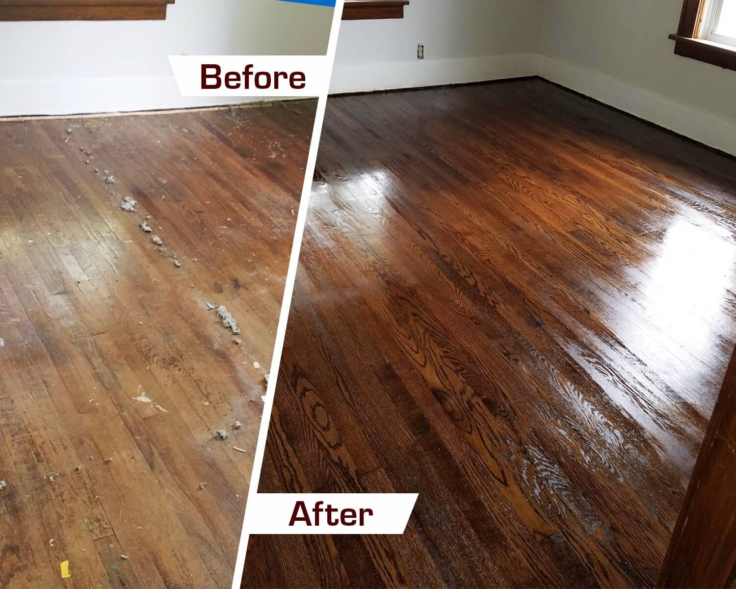 refinish wood floors in Columbus, OH