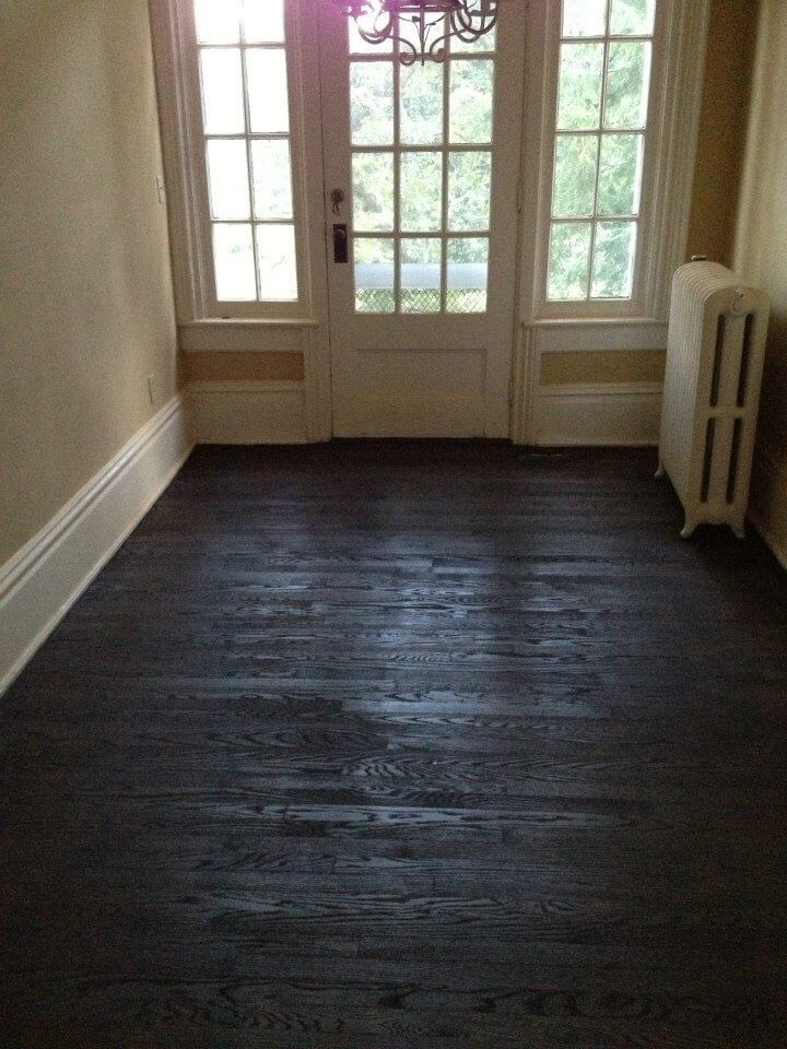 A well maintained wood floor in columbus ohio